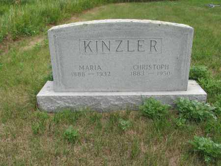 KINZLER 325, CHRISTOPH - Dickey County, North Dakota | CHRISTOPH KINZLER 325 - North Dakota Gravestone Photos