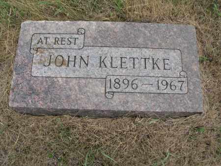 KLETTKE 249, JOHN - Dickey County, North Dakota | JOHN KLETTKE 249 - North Dakota Gravestone Photos