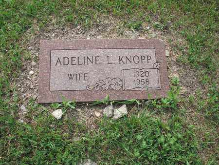 KNOPP 217, ADELINE L. - Dickey County, North Dakota | ADELINE L. KNOPP 217 - North Dakota Gravestone Photos