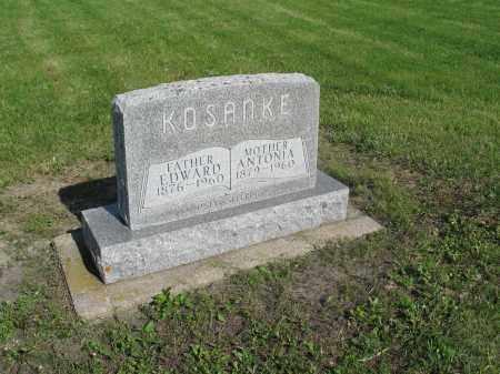 KOSANKE 029, ANTONIA - Dickey County, North Dakota   ANTONIA KOSANKE 029 - North Dakota Gravestone Photos