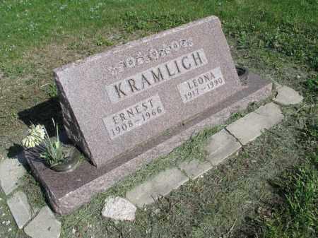 KRAMLICH 037, LEONA - Dickey County, North Dakota | LEONA KRAMLICH 037 - North Dakota Gravestone Photos