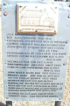RIEGER, HERMAN - Dickey County, North Dakota | HERMAN RIEGER - North Dakota Gravestone Photos