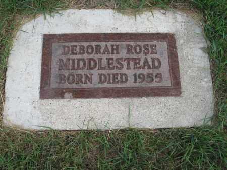 MIDDLESTEAD 244, DEBORAH ROSE - Dickey County, North Dakota   DEBORAH ROSE MIDDLESTEAD 244 - North Dakota Gravestone Photos