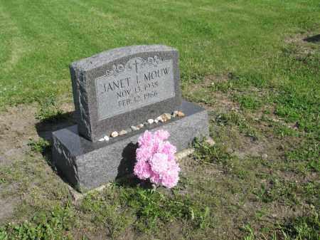 MOUW 030, JANET I. - Dickey County, North Dakota | JANET I. MOUW 030 - North Dakota Gravestone Photos