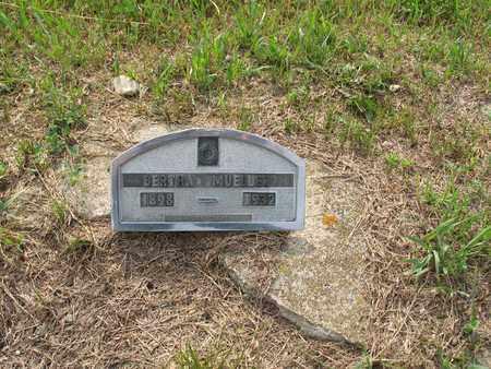 MUELLER 225, BERTHA - Dickey County, North Dakota   BERTHA MUELLER 225 - North Dakota Gravestone Photos