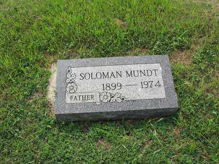 MUNDT 101, SOLOMAN - Dickey County, North Dakota | SOLOMAN MUNDT 101 - North Dakota Gravestone Photos