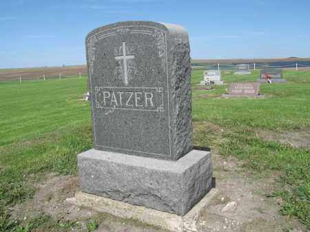 PATZER 026, FAMILY (DANIEL) MARKER - Dickey County, North Dakota | FAMILY (DANIEL) MARKER PATZER 026 - North Dakota Gravestone Photos