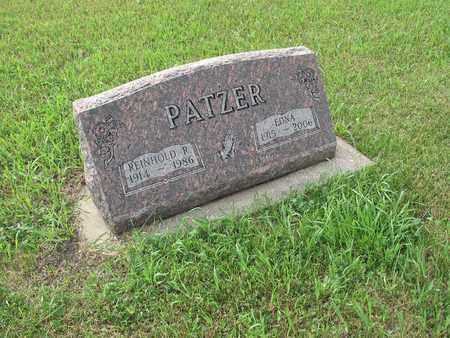PATZER 208, REINHOLD R. - Dickey County, North Dakota | REINHOLD R. PATZER 208 - North Dakota Gravestone Photos