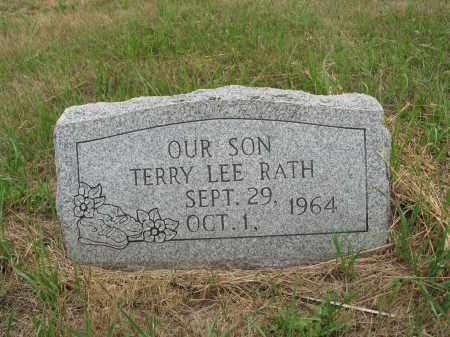 RATH 262, TERRY LEE - Dickey County, North Dakota | TERRY LEE RATH 262 - North Dakota Gravestone Photos