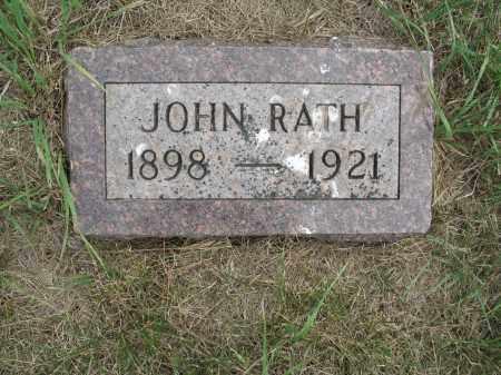 RATH 334, JOHN - Dickey County, North Dakota | JOHN RATH 334 - North Dakota Gravestone Photos