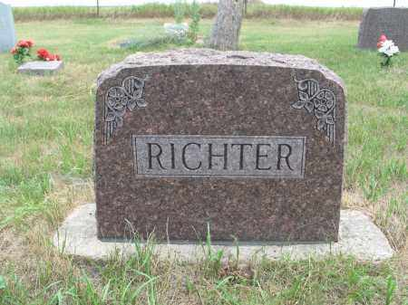 RICHTER 271, FAMILY MARKER - Dickey County, North Dakota | FAMILY MARKER RICHTER 271 - North Dakota Gravestone Photos