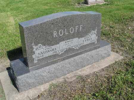 ROLOFF 051, LYDIA - Dickey County, North Dakota | LYDIA ROLOFF 051 - North Dakota Gravestone Photos