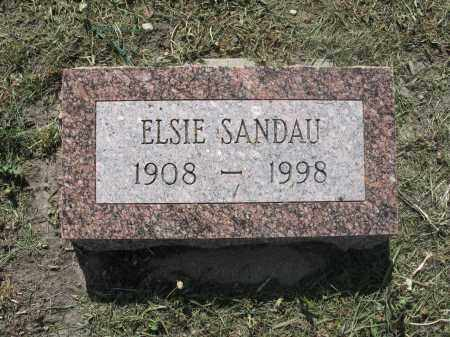 SANDAU 022, ELSIE - Dickey County, North Dakota | ELSIE SANDAU 022 - North Dakota Gravestone Photos