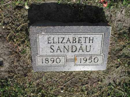 SANDAU 041, ELIZABETH - Dickey County, North Dakota | ELIZABETH SANDAU 041 - North Dakota Gravestone Photos