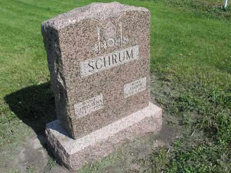 SCHRUM 043, CHRISTENA - Dickey County, North Dakota | CHRISTENA SCHRUM 043 - North Dakota Gravestone Photos