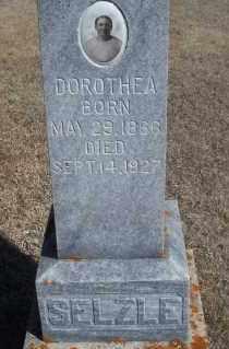 BABITZKE SELZLE, DOROTHEA - Dickey County, North Dakota | DOROTHEA BABITZKE SELZLE - North Dakota Gravestone Photos