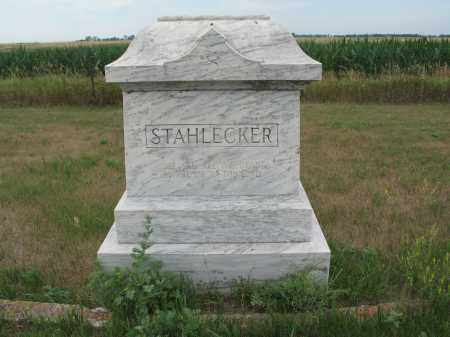 STAHLECKER 304, FAMILY MARKER - Dickey County, North Dakota | FAMILY MARKER STAHLECKER 304 - North Dakota Gravestone Photos