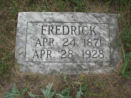STAHLECKER 306, FREDRICK - Dickey County, North Dakota   FREDRICK STAHLECKER 306 - North Dakota Gravestone Photos