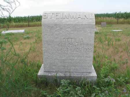 STEINWAND 299, OTTILIA - Dickey County, North Dakota   OTTILIA STEINWAND 299 - North Dakota Gravestone Photos