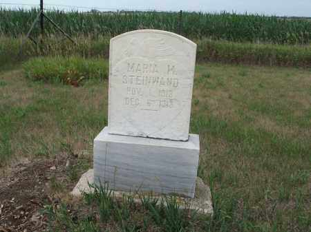 STEINWAND 316, MARIA MAGDALENA - Dickey County, North Dakota | MARIA MAGDALENA STEINWAND 316 - North Dakota Gravestone Photos