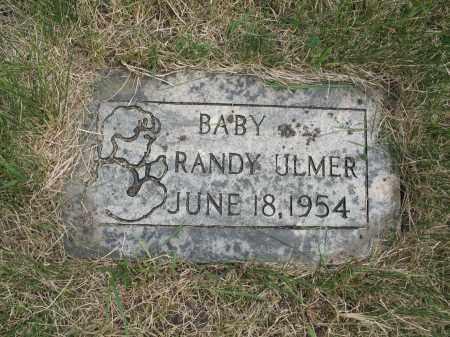 ULMER 327, RANDY LEE - Dickey County, North Dakota | RANDY LEE ULMER 327 - North Dakota Gravestone Photos