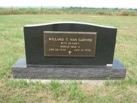 VAN GARVEN 259, WILLARD C. - Dickey County, North Dakota | WILLARD C. VAN GARVEN 259 - North Dakota Gravestone Photos