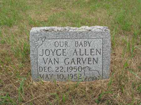 VAN GARVEN 260, JOYCE ALLEN - Dickey County, North Dakota | JOYCE ALLEN VAN GARVEN 260 - North Dakota Gravestone Photos