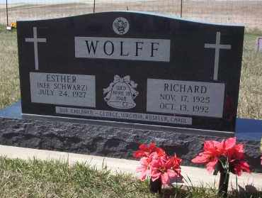 WOLFF, RICHARD - Dickey County, North Dakota | RICHARD WOLFF - North Dakota Gravestone Photos