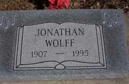 WOLFF, JONATHAN - Dickey County, North Dakota | JONATHAN WOLFF - North Dakota Gravestone Photos