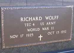 WOLFF, RICHARD - Dickey County, North Dakota | RICHARD WOLFF - North Dakota Gravestone Photos