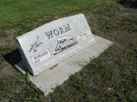 WORM 031, HOWARD - Dickey County, North Dakota | HOWARD WORM 031 - North Dakota Gravestone Photos