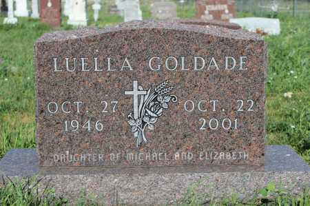 GOLDADE, LUELLA - Emmons County, North Dakota | LUELLA GOLDADE - North Dakota Gravestone Photos