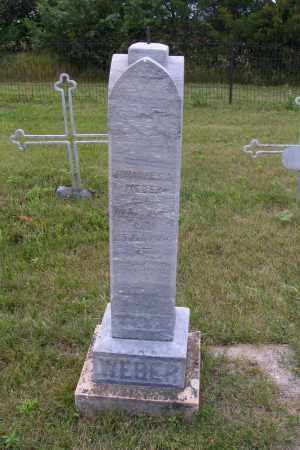 WEBER, JOHANNES A. - Emmons County, North Dakota | JOHANNES A. WEBER - North Dakota Gravestone Photos