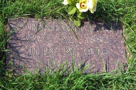 LUND, JOHN MAGEL - GrandForks County, North Dakota | JOHN MAGEL LUND - North Dakota Gravestone Photos