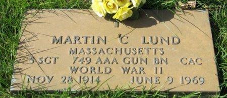 LUND, MARTIN C. - GrandForks County, North Dakota | MARTIN C. LUND - North Dakota Gravestone Photos