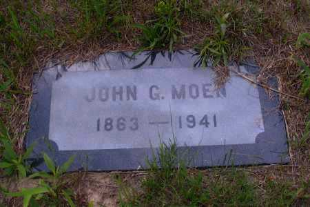 MOEN, JOHN G. - Grant County, North Dakota | JOHN G. MOEN - North Dakota Gravestone Photos