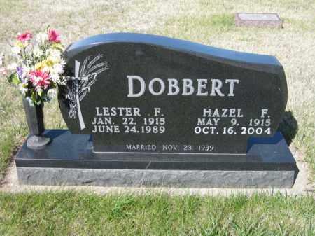 WICK DOBBERT, HAZEL F - Kidder County, North Dakota | HAZEL F WICK DOBBERT - North Dakota Gravestone Photos