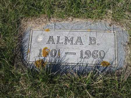 WICK, ALMA B - Kidder County, North Dakota | ALMA B WICK - North Dakota Gravestone Photos