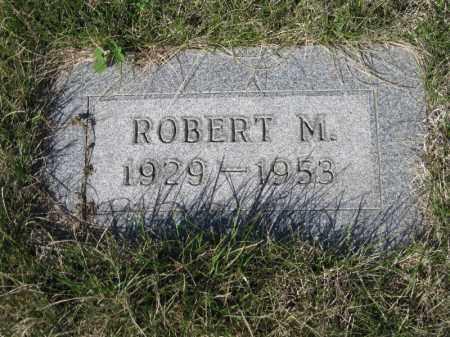 WICK, ROBERT M - Kidder County, North Dakota | ROBERT M WICK - North Dakota Gravestone Photos