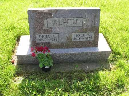 ALWIN 015, FRED A. - LaMoure County, North Dakota | FRED A. ALWIN 015 - North Dakota Gravestone Photos