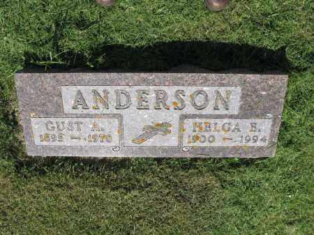 ANDERSON 022, GUST A. - LaMoure County, North Dakota | GUST A. ANDERSON 022 - North Dakota Gravestone Photos