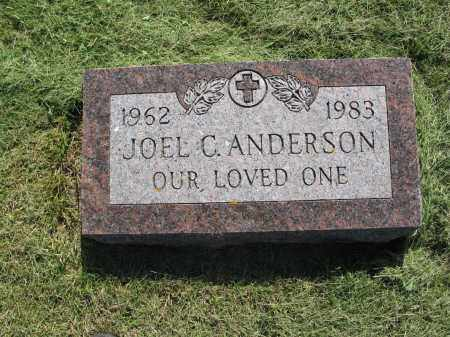 ANDERSON 035, JOEL CLARENCE - LaMoure County, North Dakota | JOEL CLARENCE ANDERSON 035 - North Dakota Gravestone Photos
