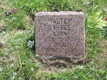 BARTEL 411, WALTER - LaMoure County, North Dakota | WALTER BARTEL 411 - North Dakota Gravestone Photos