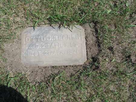 BECKER 606, OTTO JULIUS - LaMoure County, North Dakota | OTTO JULIUS BECKER 606 - North Dakota Gravestone Photos