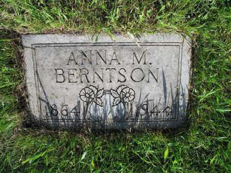 BERNTSON 007, ANNA M. - LaMoure County, North Dakota | ANNA M. BERNTSON 007 - North Dakota Gravestone Photos