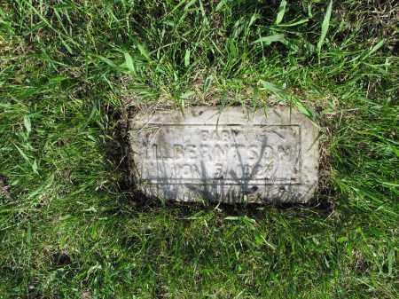 BERNTSON 017, L. - LaMoure County, North Dakota   L. BERNTSON 017 - North Dakota Gravestone Photos