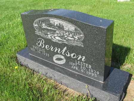 BERNTSON 037, LESTER - LaMoure County, North Dakota | LESTER BERNTSON 037 - North Dakota Gravestone Photos