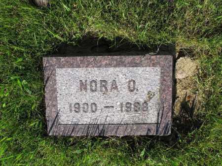 BERNTSON 042, NORA O. - LaMoure County, North Dakota | NORA O. BERNTSON 042 - North Dakota Gravestone Photos