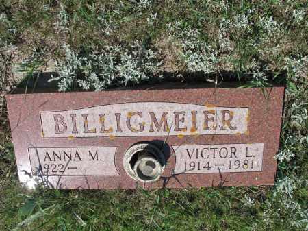 BILLIGMEIER 319, VICTOR L. - LaMoure County, North Dakota | VICTOR L. BILLIGMEIER 319 - North Dakota Gravestone Photos