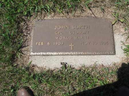 BORTH 524, JOHN - LaMoure County, North Dakota | JOHN BORTH 524 - North Dakota Gravestone Photos